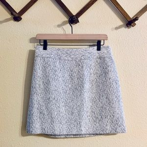 The limited | Gray Tweed Skirt Size 2